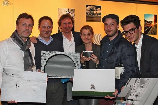 Franz Eder, Peter Nordberg, Michael Denkstein, Karin Rehn - Kaufmann, Richard Schabetsberger und Marco Riebler