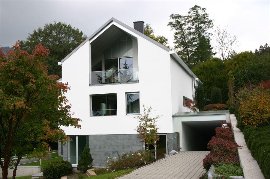 neubau moderne villa in st gilgen am wolfgangsee salzburg land kaufen denkstein. Black Bedroom Furniture Sets. Home Design Ideas