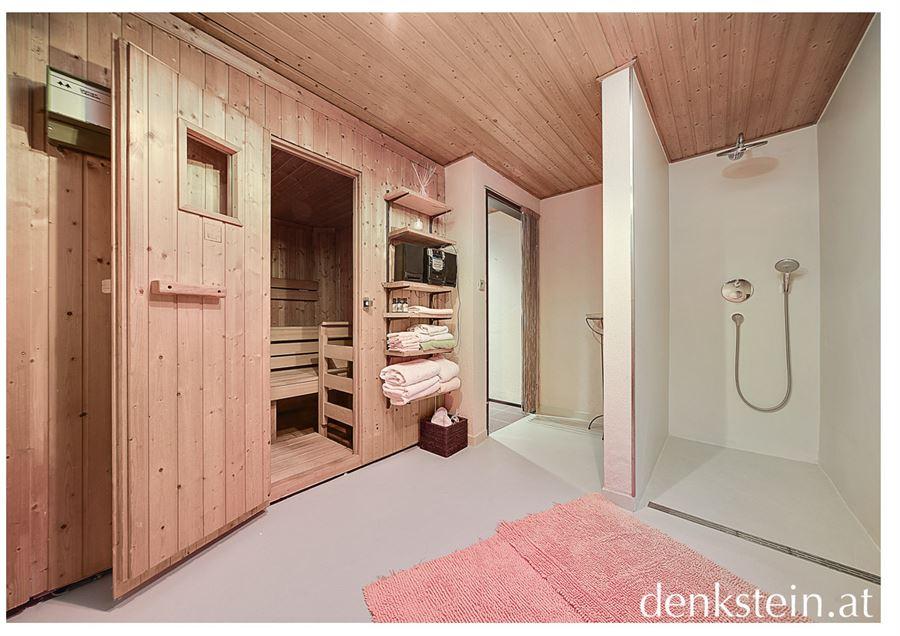 einzigartige sonnige doppelhaush lfte mit pool in salzburg stadt kaufen denkstein immobilien. Black Bedroom Furniture Sets. Home Design Ideas